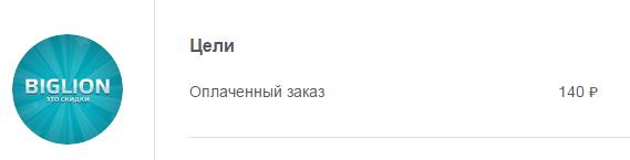 купонатор биглион 140 рублей за заявку